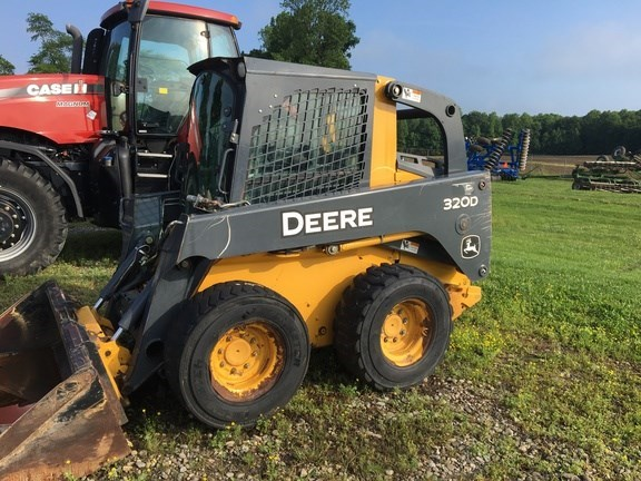 2011 John Deere 320D Skid Steer For Sale