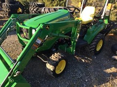 Tractor For Sale 2014 John Deere 1023E
