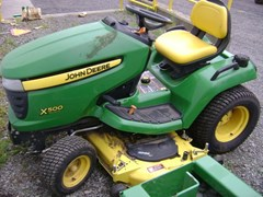 Riding Mower For Sale 2011 John Deere X500 , 25 HP