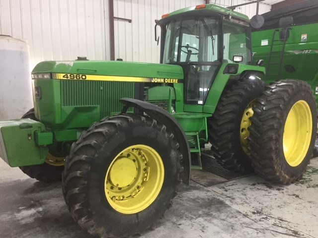1992 John Deere 4960 Tractor For Sale