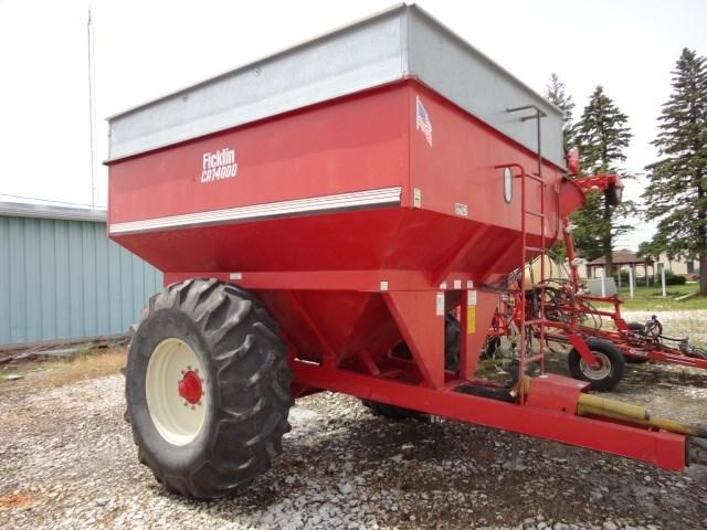 1999 Ficklin 14000 Grain Cart For Sale