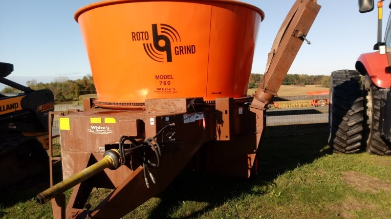 2016 Rotogrind 760 Tub Grinder - Feed/Hay PTO For Sale