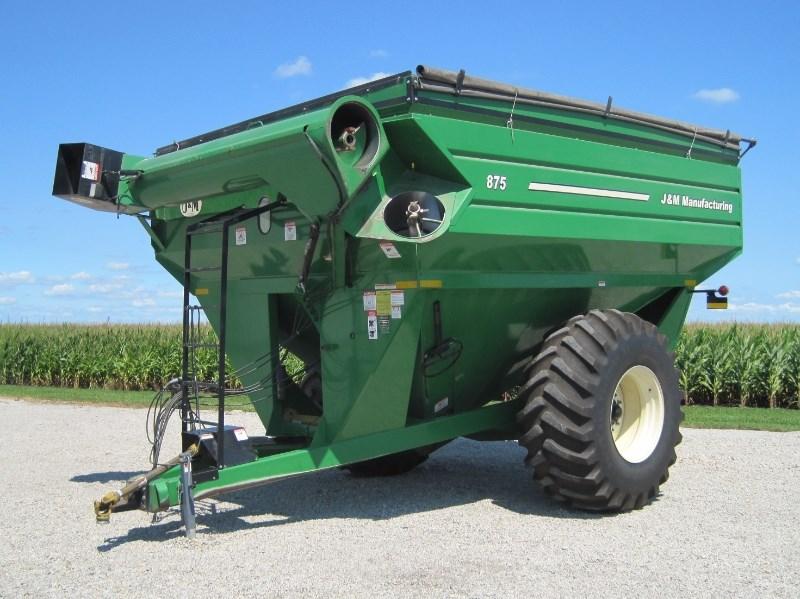 2010 J & M 875 Grain Cart For Sale
