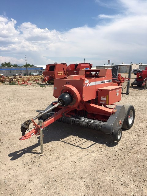 2008 Massey Ferguson 1837 Baler-Square For Sale