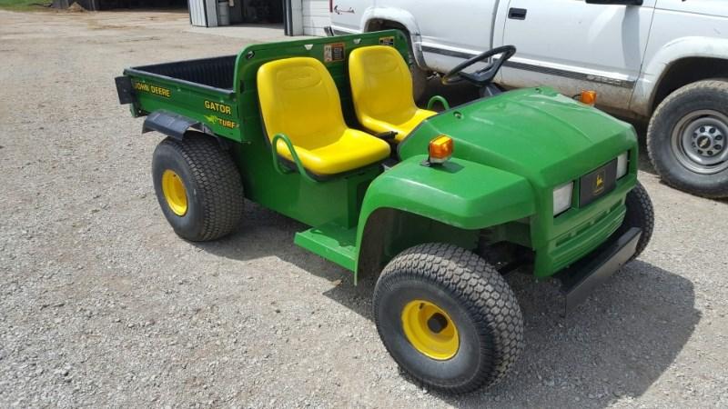 2000 John Deere TX TURF Utility Vehicle For Sale