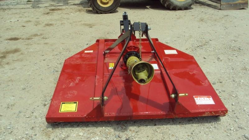 Atlas Well built 3pt 5' brush hog w/ clutch & stump jump Rotary Cutter For Sale