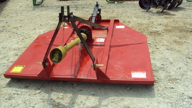 Atlas Well built 3pt 6' brush hog w/ clutch & stump jump Rotary Cutter For Sale