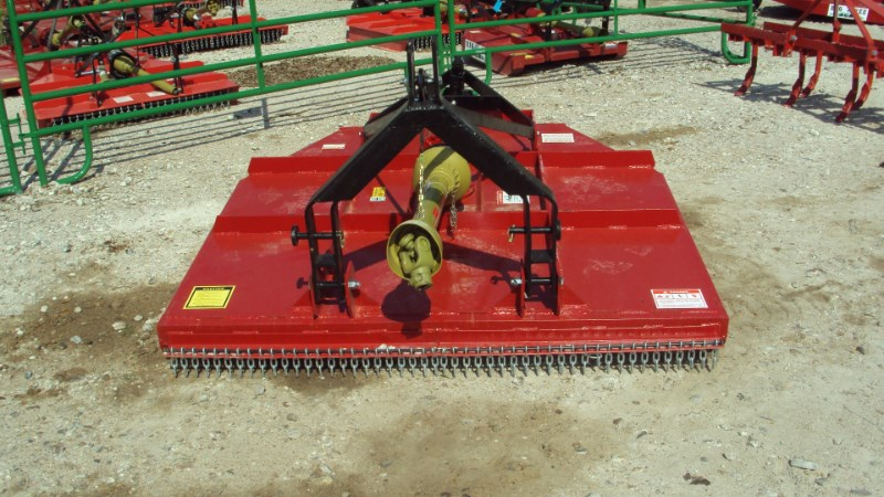 Atlas Extreme Duty 3pt 6' brush hog w/ clutch & stump ju Rotary Cutter For Sale