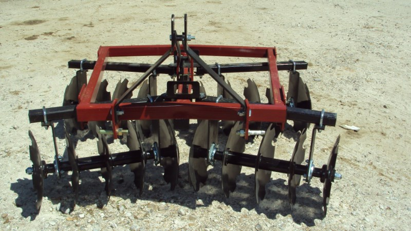 Atlas NEW 3pt 6.5' HD tandem disc 3002018BB Disk Harrow For Sale