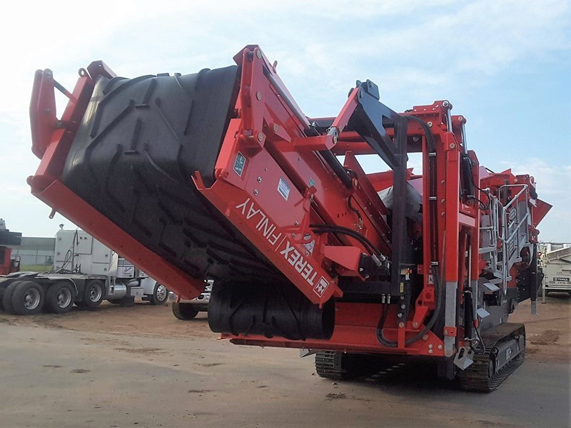 2017 Finlay 883+ Screening Plant - Hydraulic For Sale