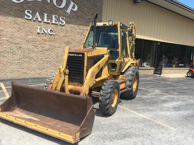 Caterpillar 416 Loader Backhoe For Sale