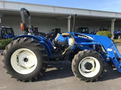 Tractor For Sale 2006 New Holland TN70A , 57 HP