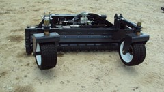 "Skid Steer Attachment For Sale:  Virnig heavy duty skid steer hyd. 72"" power rake"