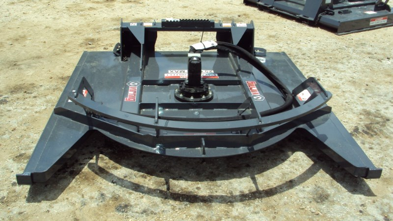 Virnig V40 ROTARY BRUSH CUTTER OPEN FRONT DECK Skid Steer Attachment For Sale