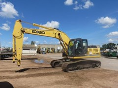 Excavator For Sale:  2012 Kobelco SK210LC-9