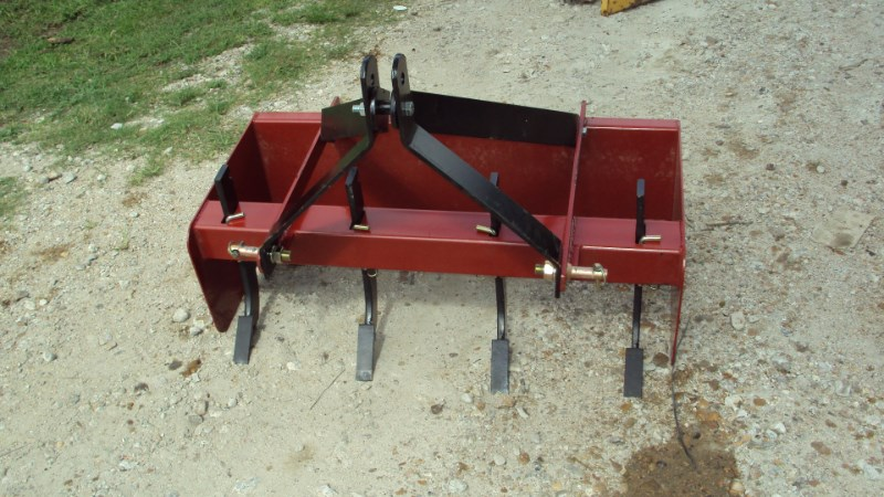 "Atlas 3pt 42"" NEW box blade w/ teeth Box Blade Scraper For Sale"
