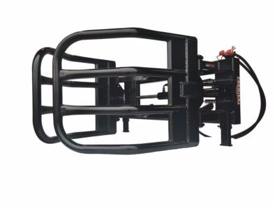 Premier Skid steer hydraulic bale grabber Bale Squeeze Attachment For Sale