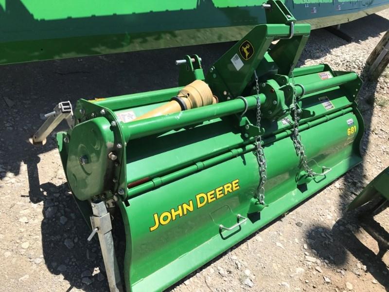 John Deere 681 Rotary Tiller For Sale