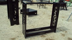 "Misc. Sport/Utility For Sale:  Other 48"" metal decorative fire wood rack"