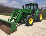 Tractor For Sale: 2015 John Deere 6125M, 125 HP