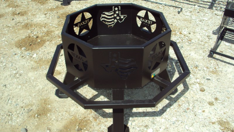 "Other Heavy duty 28"" fire pits w/ grill Misc. Sport/Utility For Sale"
