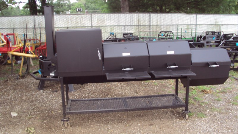 "Other Heavy duty 48""x20"" BBQ pit w/ fire & smoker box Misc. Sport/Utility For Sale"