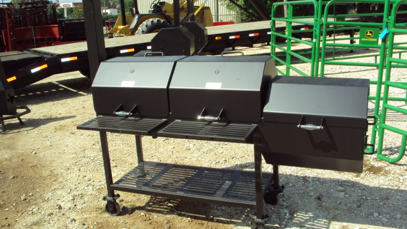 "Other Heavy duty 48""x20"" BBQ pit w/ fire box Misc. Sport/Utility For Sale"