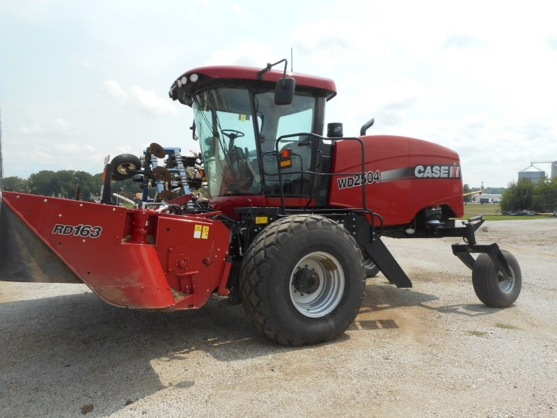 2015 Case IH WD2504-16 Windrower-Self Propelled For Sale