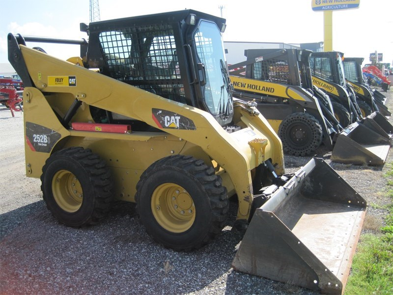 2011 Caterpillar 252B3 Skid Steer For Sale