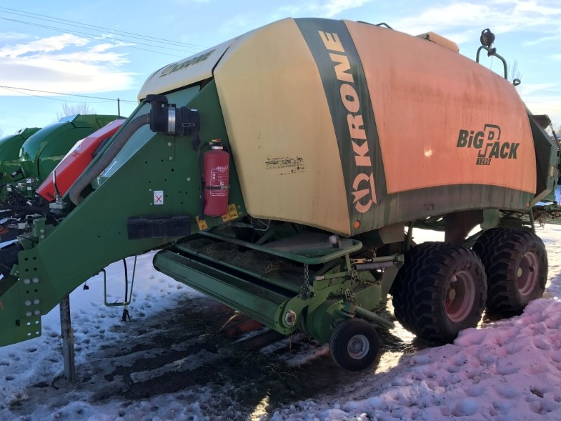2009 Krone BP1290 Baler-Big Square For Sale