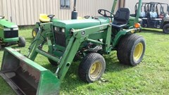 Tractor For Sale 1988 John Deere 650 , 17 HP