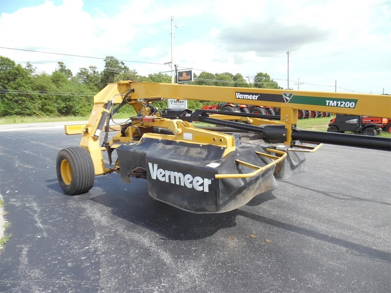 2012 Vermeer TM1200 Disc Mower For Sale