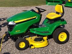 Riding Mower For Sale 2017 John Deere X354 , 18 HP