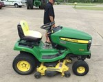 Riding Mower For Sale: 2008 John Deere X324, 22 HP