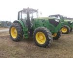Tractor For Sale: 2015 John Deere 6140M, 140 HP