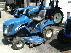 Tractor - Compact For Sale 2005 New Holland TZ25DA W/60CMS DECK , 25 HP