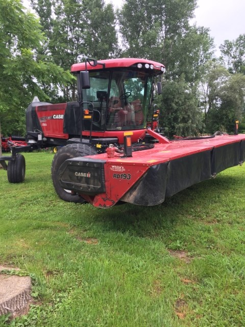 2014 Case IH WD2303 Windrower-Self Propelled For Sale