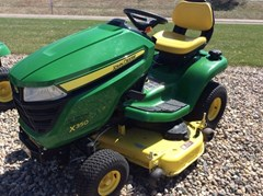 Riding Mower For Sale:  2016 John Deere X350