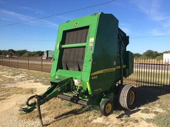 2007 John Deere 468 Baler-Round For Sale