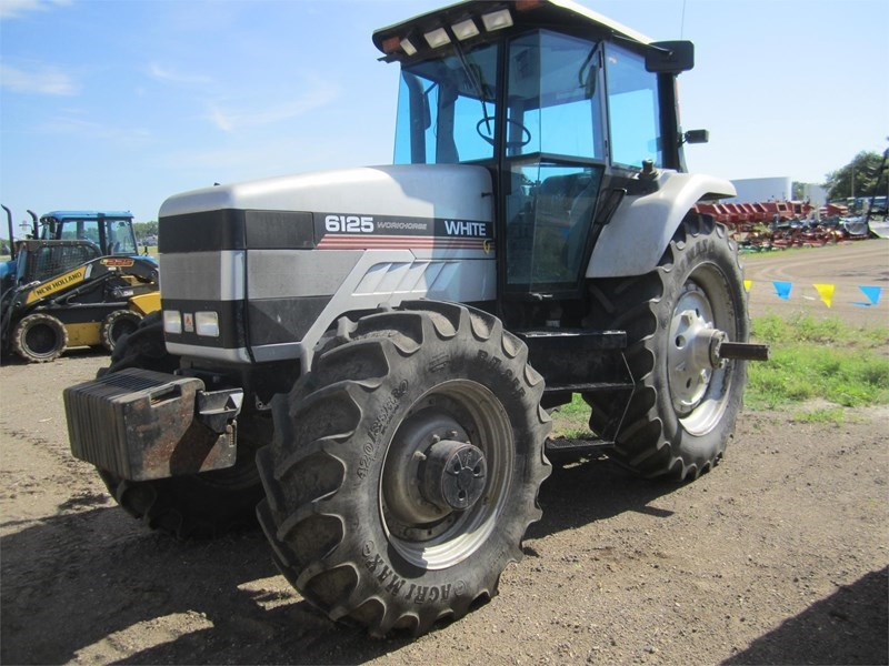 1996 Agco White 6125 Tractor For Sale
