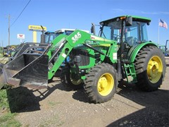Tractor For Sale 2010 John Deere 6115D , 118 HP