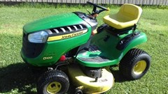 Riding Mower For Sale 2012 John Deere D100 , 17 HP
