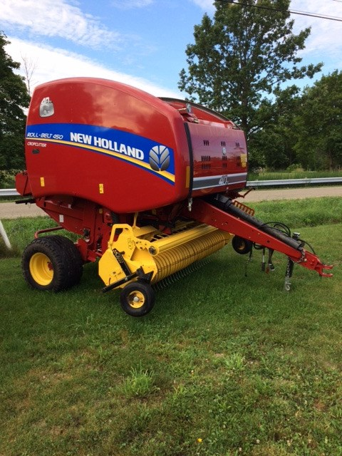 2015 New Holland RB450 Baler-Round For Sale