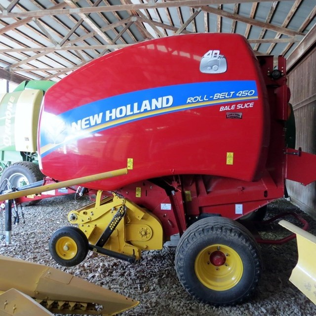 2015 New Holland RB450U Baler-Round For Sale