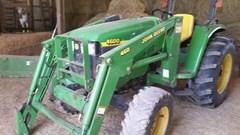 Tractor For Sale:  1999 John Deere 4600 , 43 HP