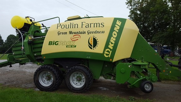 2017 Krone 890xc Baler-Big Square For Sale