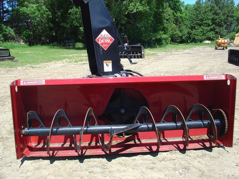 2008 Red Devil 6' Snow Blower For Sale