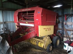 Baler-Round For Sale 1989 New Holland 848