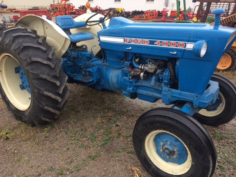 1970 Ford 4000 Tractor For Sale