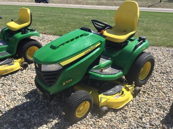2015 John Deere X534 Riding Mower For Sale